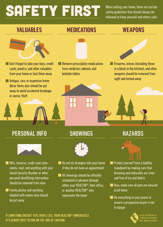 home seller safety tips
