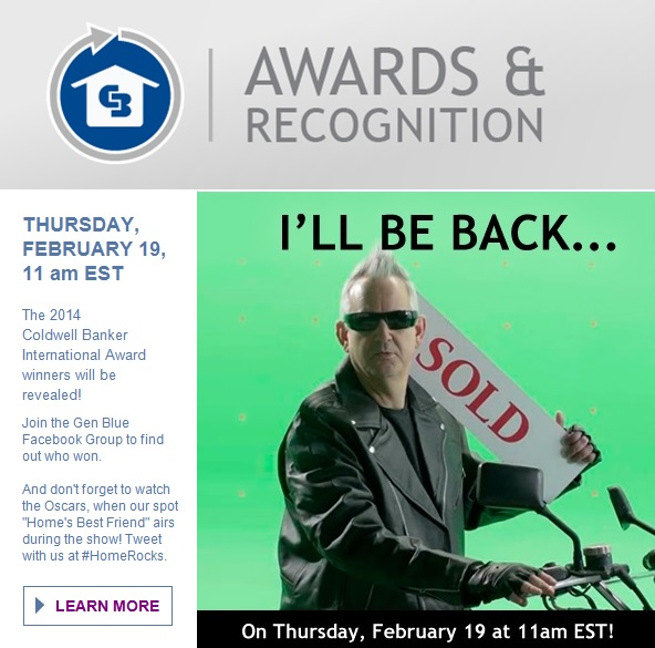 coldwell banker awards recognition